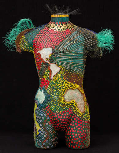 Bonnie Meltzer beaded sculpture