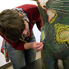 Collaborative sculpture workshops